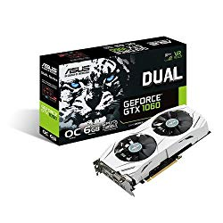 ASUS GEFORCE GTX 1060 6GB DUAL FAN OC EDITION VR READY (UNDER 400)