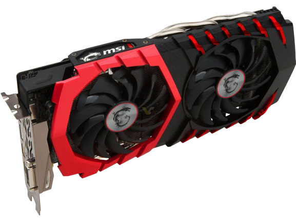 MSI VGA GRAPHICS CARD RX 580 GAMING X 8GB
