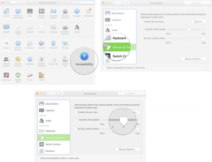 how to change mouse dpi in macbook
